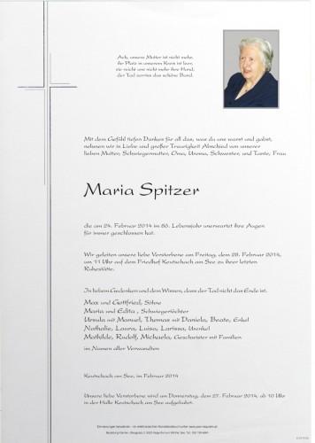 Maria Spitzer