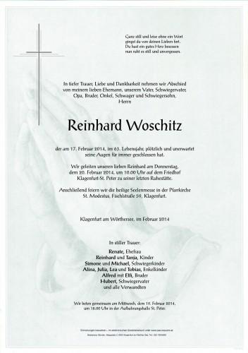 Reinhard Woschitz