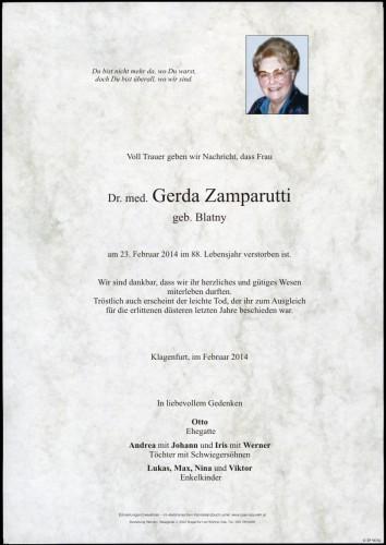 Dr. med. Gerda Zamparutti