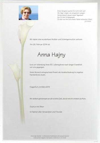 Anna Hajny