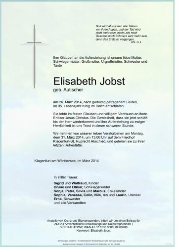Elisabeth Jobst