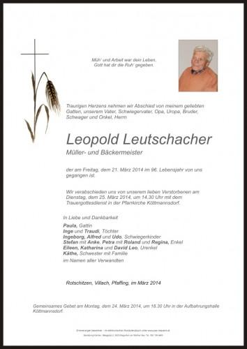 Leopold Leutschacher