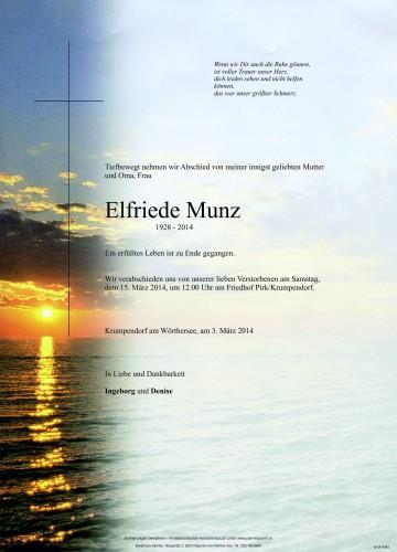 Elfriede Munz