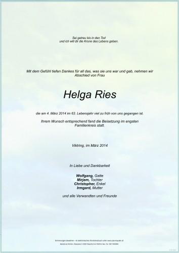 Helga Ries