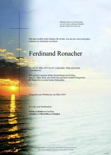 Ferdinand Ronacher