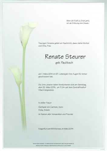 Renate Steurer