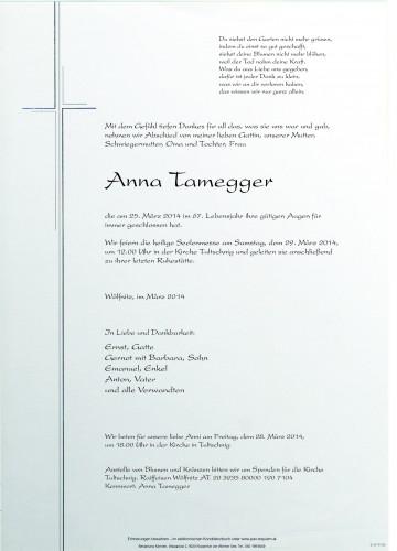 Anna Tamegger