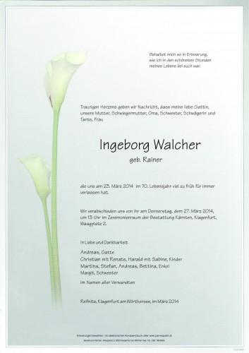 Ingeborg Walcher
