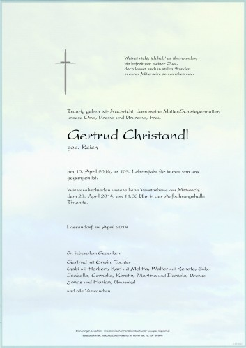 Gertrud Christandl