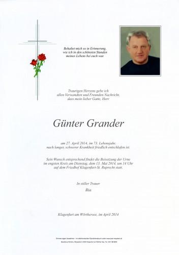 Günter Grander