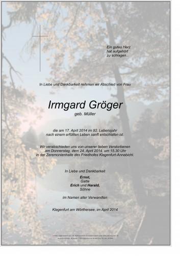 Irmgard Gröger