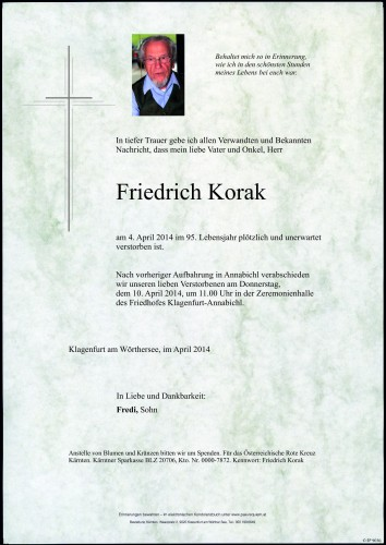 Friedrich Korak