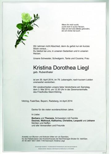 Kristina Dorothea Liegl