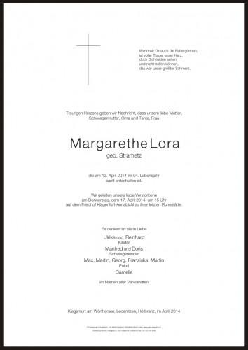 Margarethe Lora