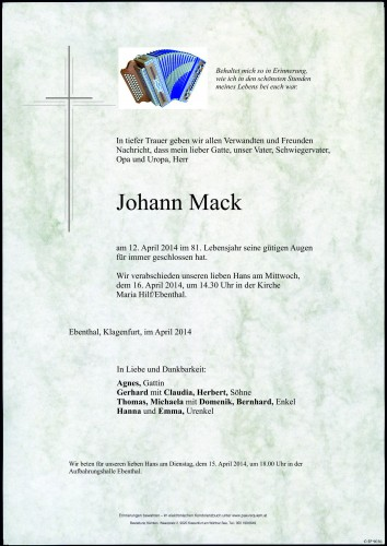 Johann Mack