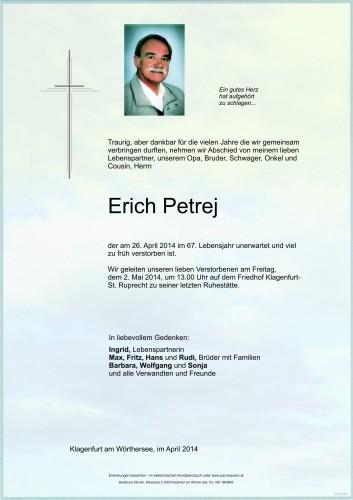Erich Petrej
