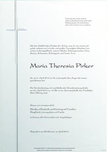 Maria Theresia Pirker