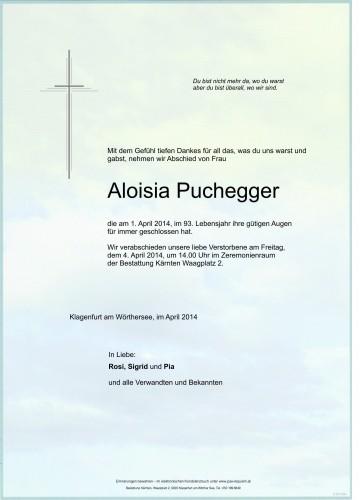 Aloisia Puchegger