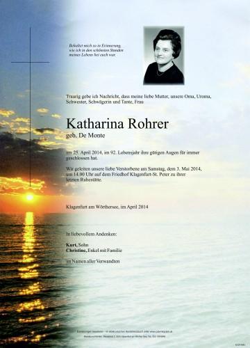 Katharina Rohrer