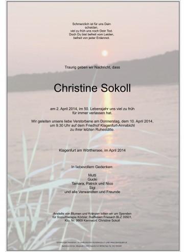 Christine Sokoll