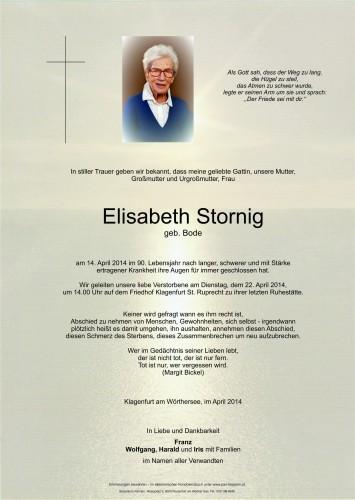 Elisabeth Stornig