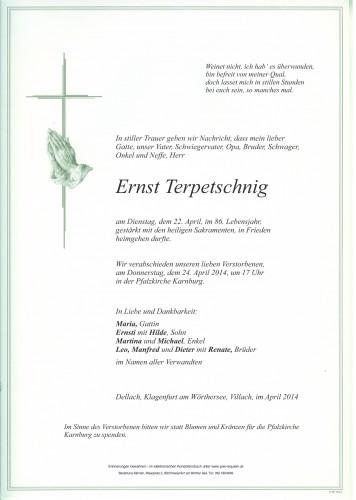 Ernst Terpetschnig
