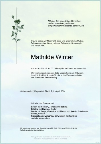 Mathilde Winter