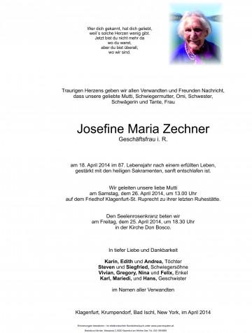 Josefine Maria Zechner