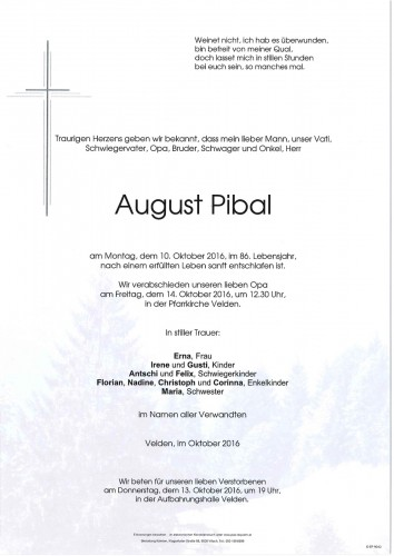 August Pibal