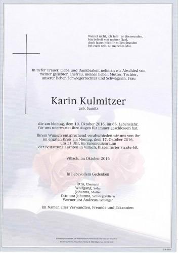 Karin Kulmitzer