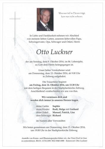 Otto Luckner