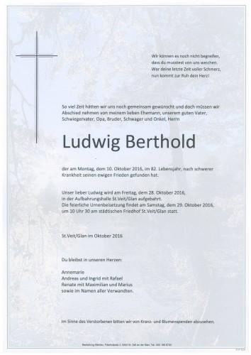 Ludwig Berthold
