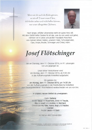 Josef Flötschinger
