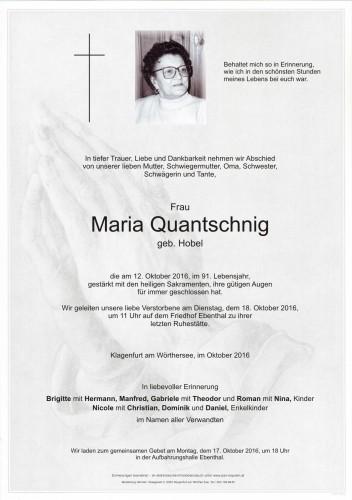 Maria Quantschnig