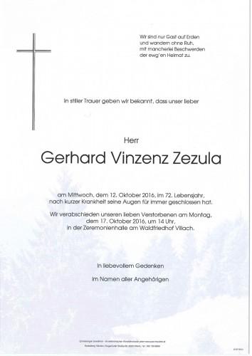 Gerhard Vinzenz Zezula