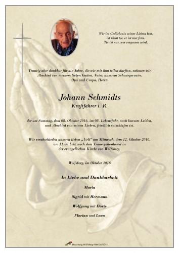 Schmidts Johann