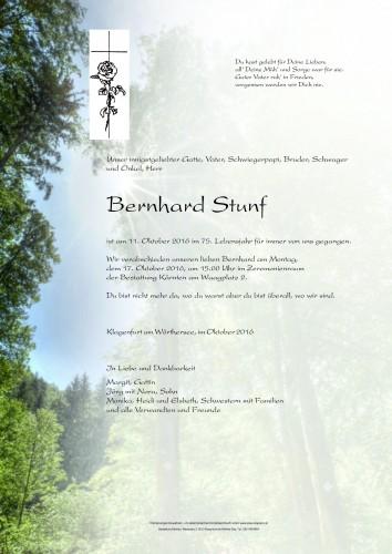 Stunf Bernhard