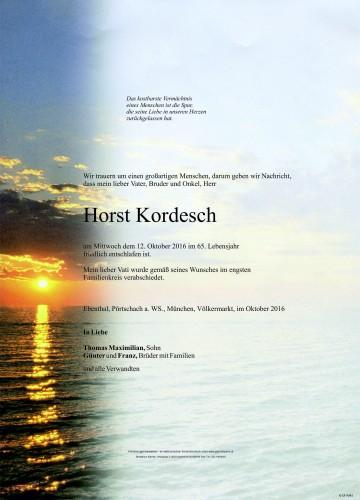 Horst Kordesch