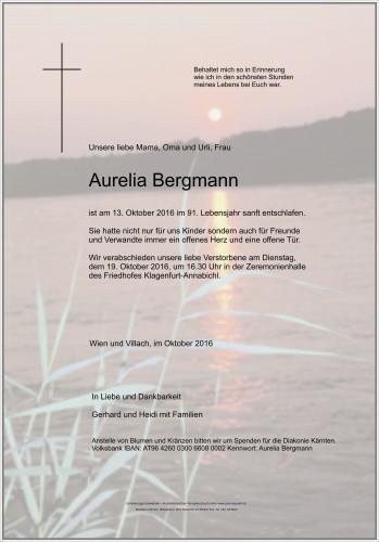 Aurelia Bergmann