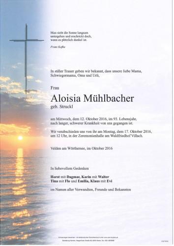 Aloisia Mühlbacher