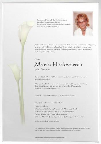 Maria Hudovernik