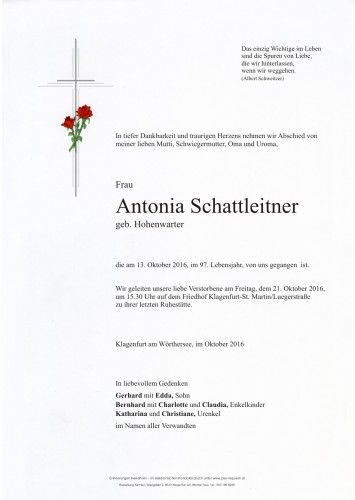 Antonia Schattleitner