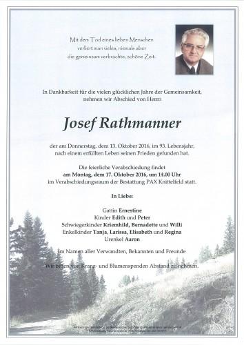 Josef Rathmanner
