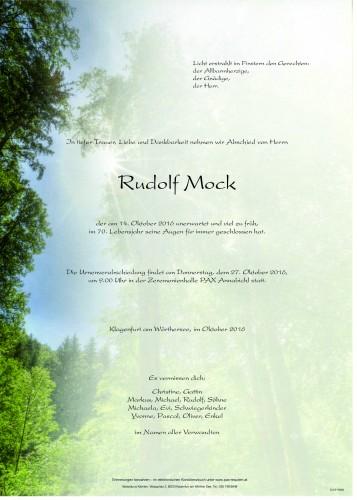 Rudolf Mock