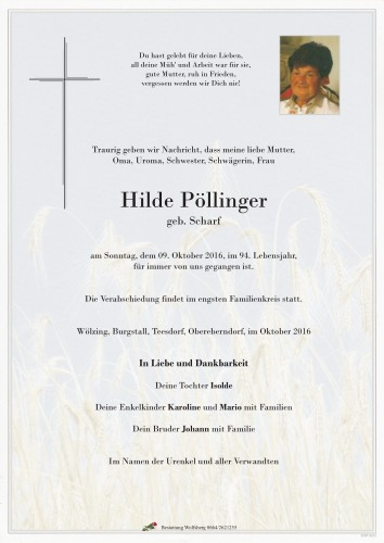 HIlda Pöllinger