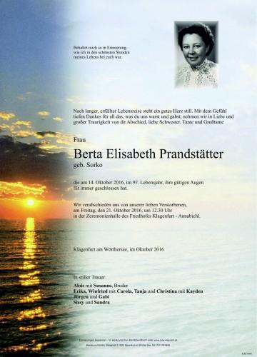 Berta Elisabeth Prandstätter