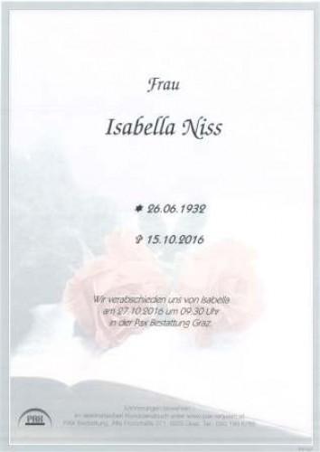 Isabella Niss