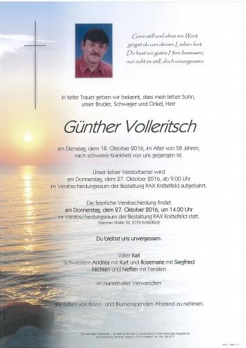 Günther Volleritsch