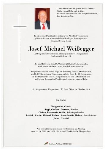 Josef Michael Weißegger