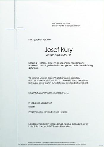 Josef Kury